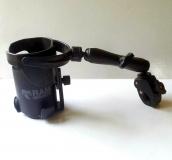 Drink Cup Holder, adjustable, arm, clamp