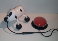 Vibrating Dog - switch adapted