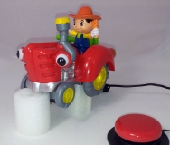 Bump n Go Musical Tractor
