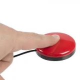 Buddy Button Red 6cm