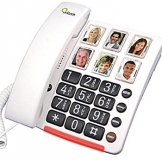 Care80 Big Button Phone, Picture Dialling