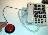 Telstra SP817 Big Button Phone, With 6cm Jellybean Switch
