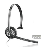 Corded Telephone Headset,  2.5mm plug