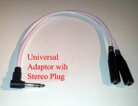 Z Double Adaptor 6mm Universal Lead