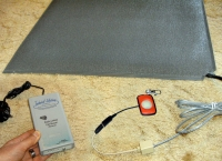 Floor Sensor Mat Alarm - Wireless Call Buzzer 30 metre range