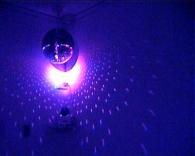 Mirror Ball, Colour Changing Led Spotlight