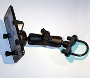 Phone X-Grip Mount with 9.5cm and U-Bolt Clamp