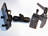 Mobile Phone Mount with swivel arm and Multi-Clamp