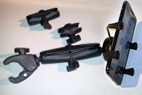 Mobile Phone Mount with swivel arm and Tough Claw