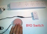 Remote Control Power Board-Switch Adapted