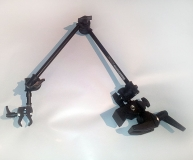 Light Articulated Switch Mount with Multi Clamp & Nano Clamp