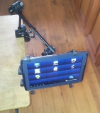 Light Articulated Tablet, iPad Mount, X-Grip and clamp