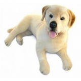Weighted Plush Labrador
