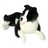 Weighted Plush Border Collie
